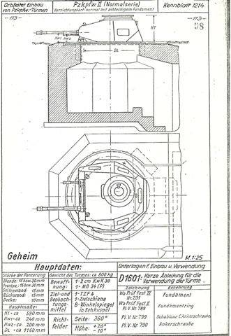 Tank archives german tank bunkers for Cistern plans