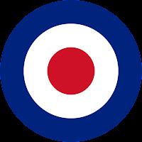 cocard mods embleme rock angleterre RAF