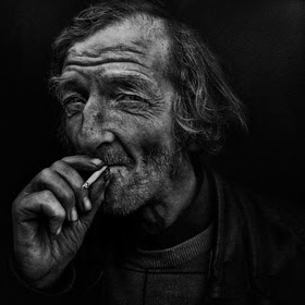 black and white old people photography   old man ciggarette
