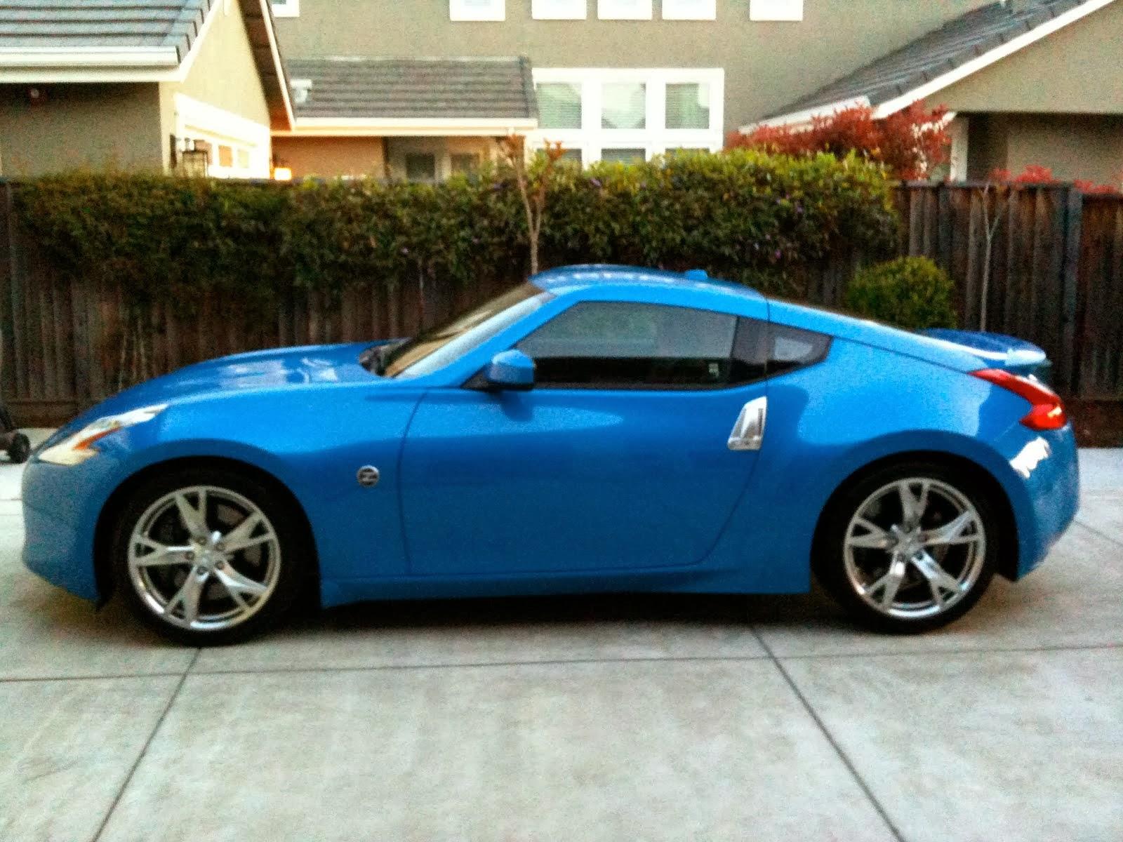 Blue Sports Car Sports Cars