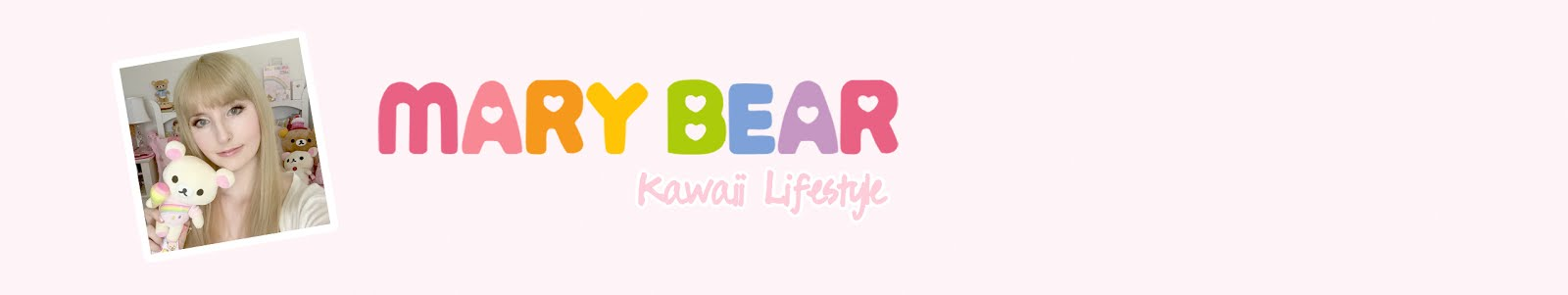 Mary Bear - Kawaii Lifestyle
