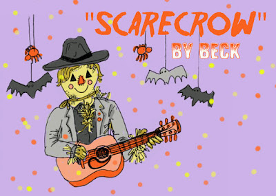 Scarecrow-Beck  A mellow indie-rock jam honoring the holiday's gentle, unsung hero: The Scarecrow.