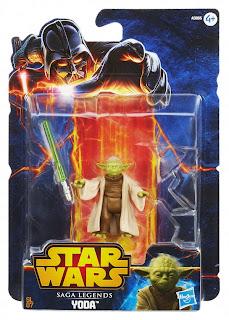 Hasbro Star Wars Saga Legends Yoda Figure