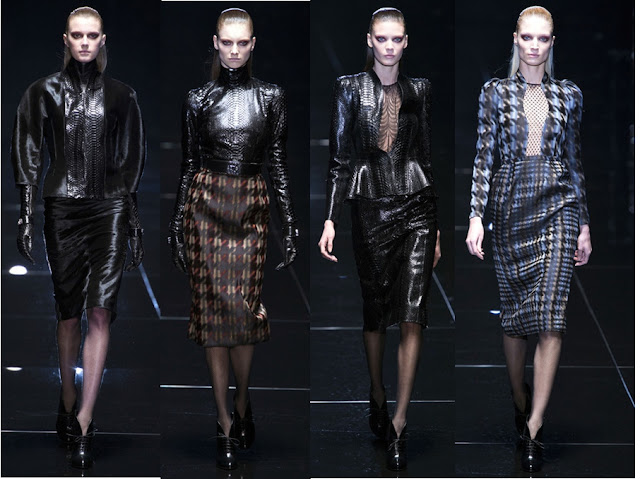 Gucci Fall 2013 - Dangerous Women - Python and Houndstooth