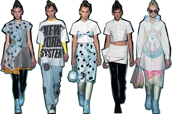 Rave themes and punchy pastels dominated the marc by marc jacobs
