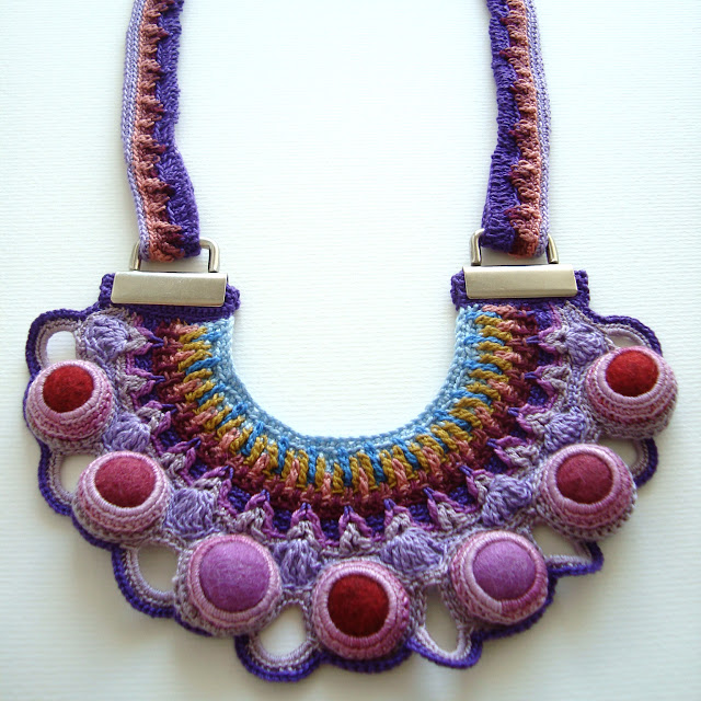 Regia Statement Necklace by Sara Aires