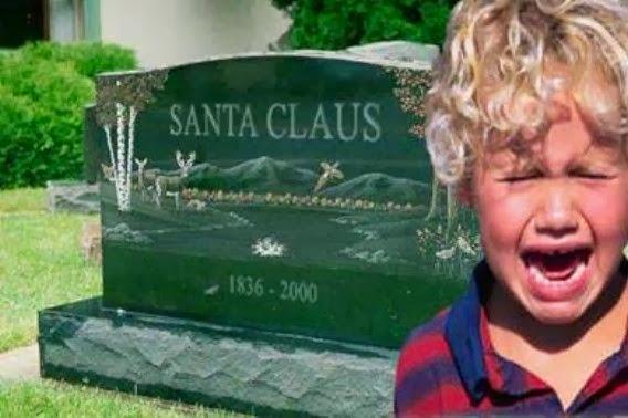 Santas Grave Funny