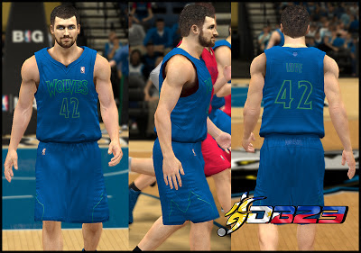 NBA 2K13 Minnesota Timberwolves Winter Court Jersey Patch