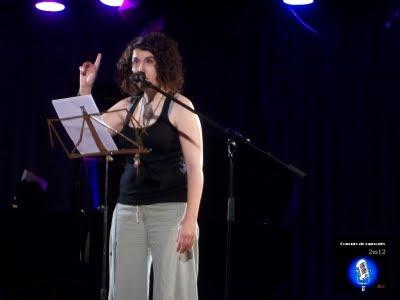 Cristina Canudas - Concurs de Rapsodes 2012