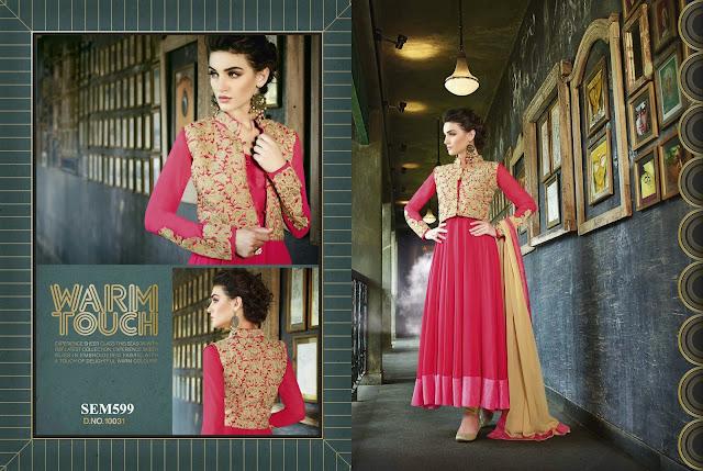 Gorgeous Designer Long Anarkali Suit – Supplier