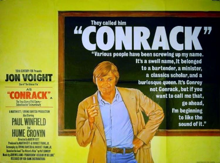A Vintage Nerd, Classic Film Blog, Old Hollywood Blog, Classic Teacher Movies, Conrack