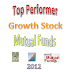 Best Performer Growth Stock Mutual Funds 2012