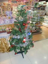 Dette juletre fant jeg i et kjøpesenter i Bangkok.