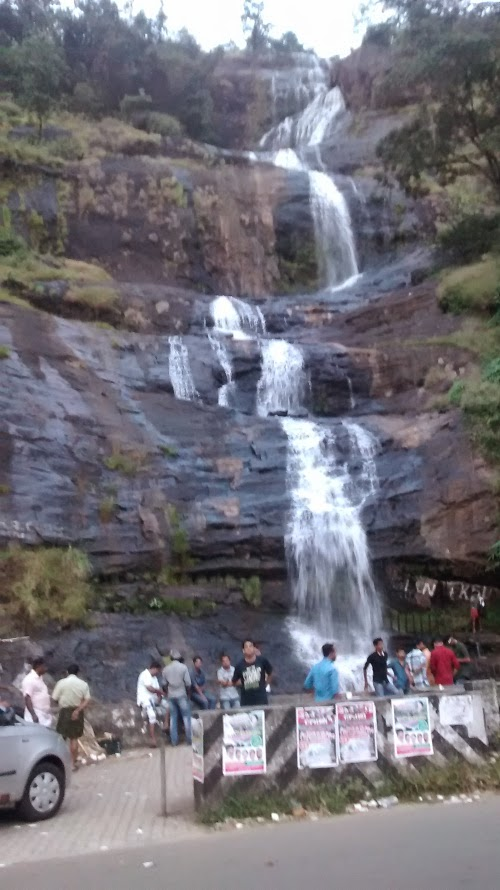 Cheeyapara watre falls on the way to munnar idukki kerala
