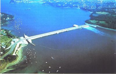 L 39 nergie hydraulique en bretagne barrage de la rance for Estuaire de la rance