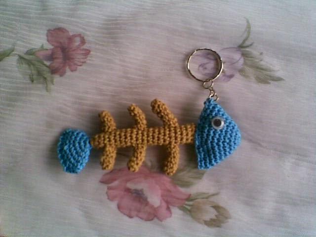 Amigurumi Fish Bone Free Pattern : Amigurumi Fish Bone ~ Zan Crochet