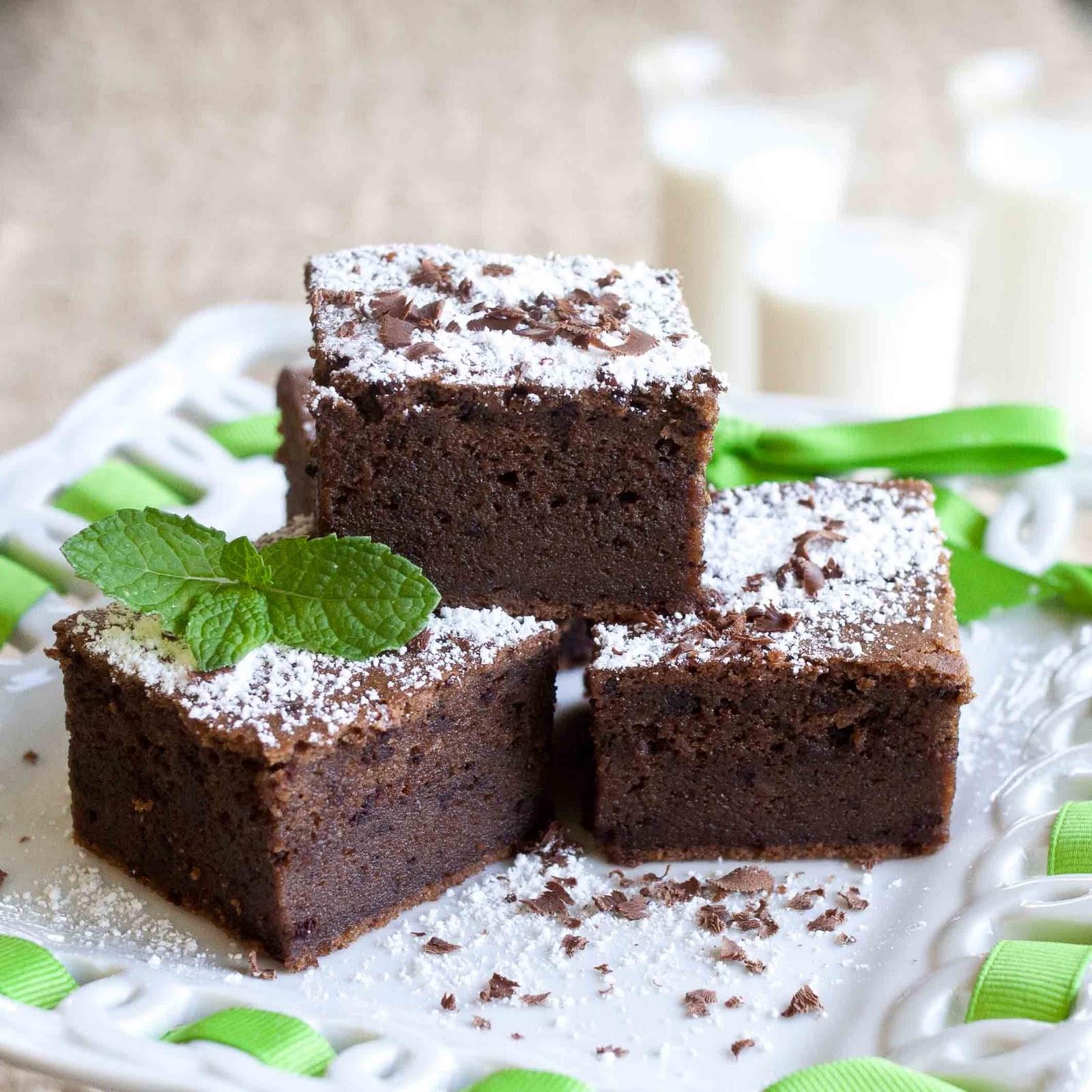 Chocolate Mochi Cake Recipe — Dishmaps