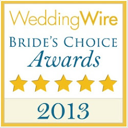 2013 Brides Choice Award!!