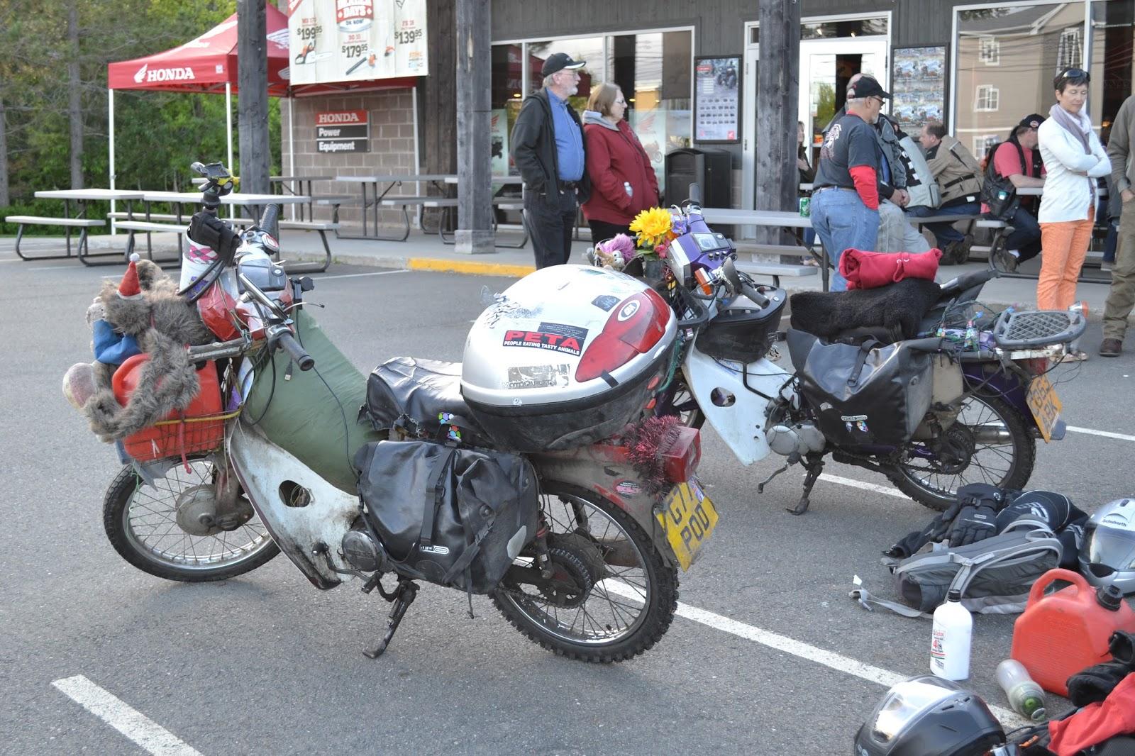 Adventures c90 Honda Trail