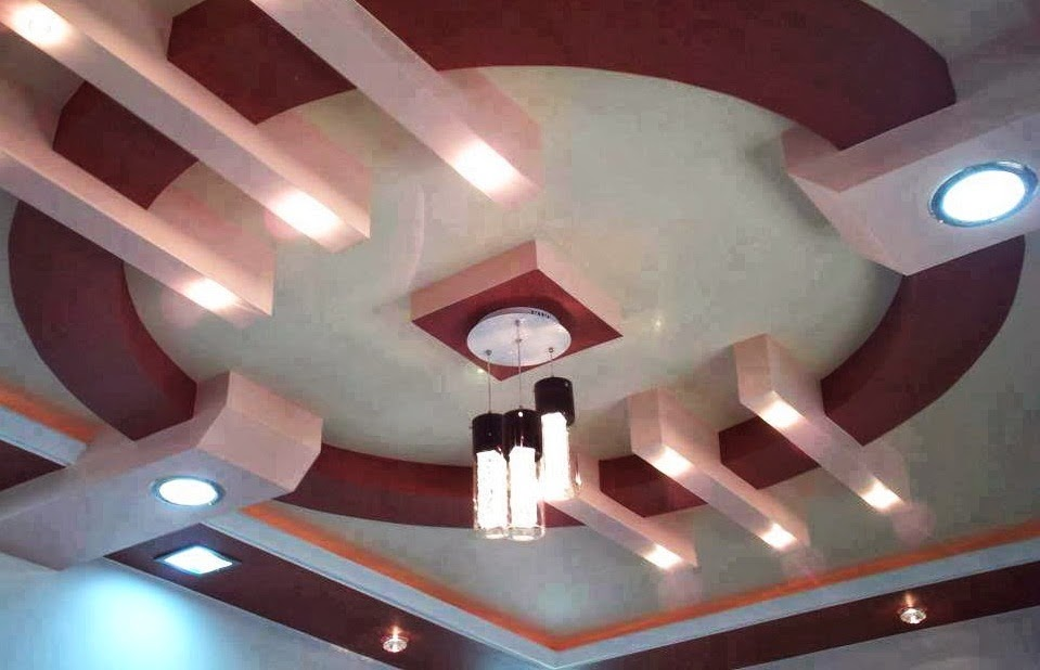 La medina d coration rosace faux plafond platre for Rosace en platre marocain