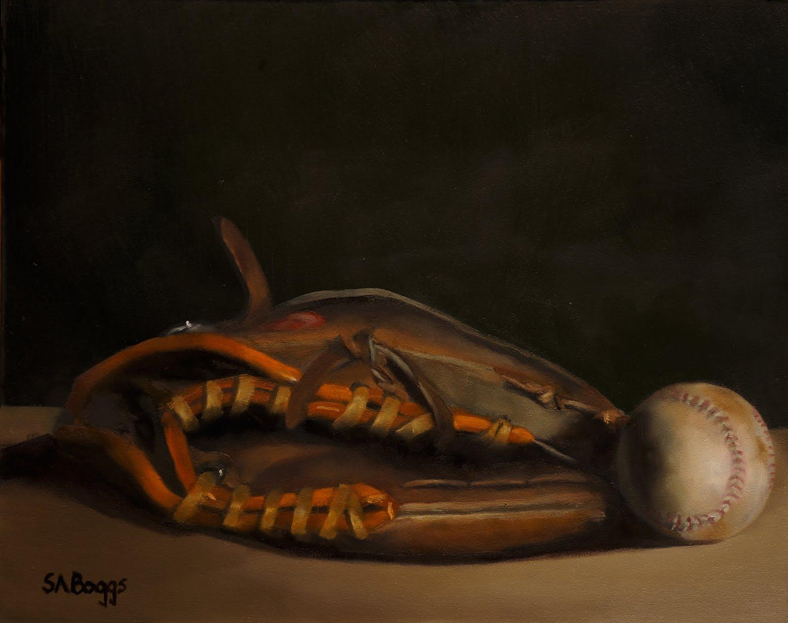 Baseball Glove Paint : The artwork of steven allen boggs january