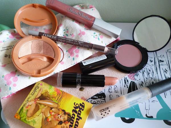Mi Cosmetiquero básico de Agosto 2013