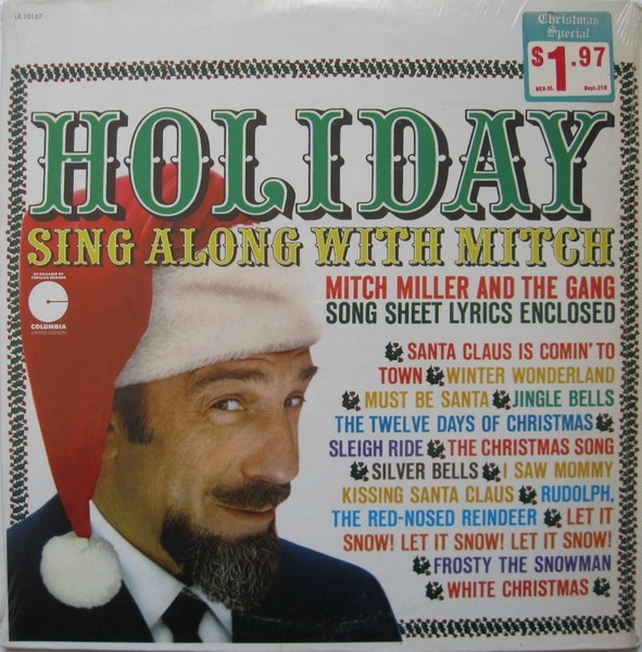 holiday sing along with mitch mitch miller the gang 1961