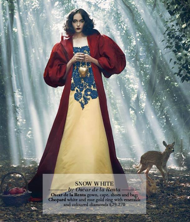 Princesas da Disney vistas por designers de moda