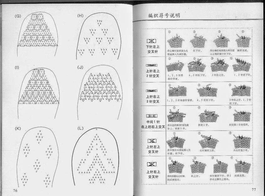 Fantásticas pantuflas tejidas con dos agujas patrones