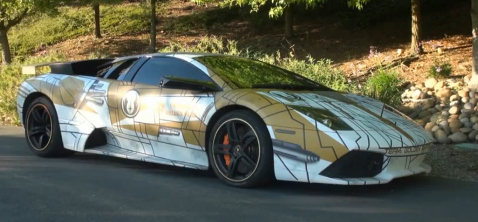 The FORCE Runs Strong With This STAR WARS Lamborghini Murcielago LP640