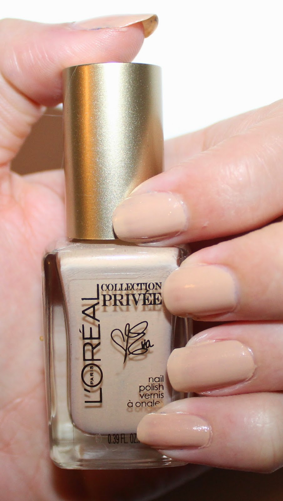 L'Oréal Collection Privée Exclusive Nudes Nail Polishes Eva