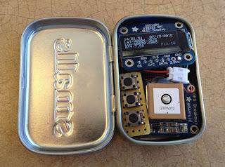 Mini GPS LCD OLED AVR