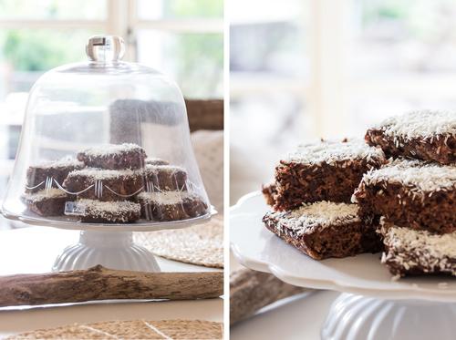 Amalie loves Denmark Schokoladen-Kokoskuchen