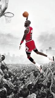 Michael Jordan iphone 5 wallpaper