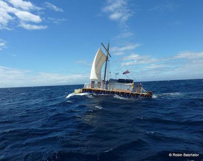 85-Year-Old British Sailor, Crosses Atlantic On A Homemade Raft Seen On www.coolpicturegallery.us