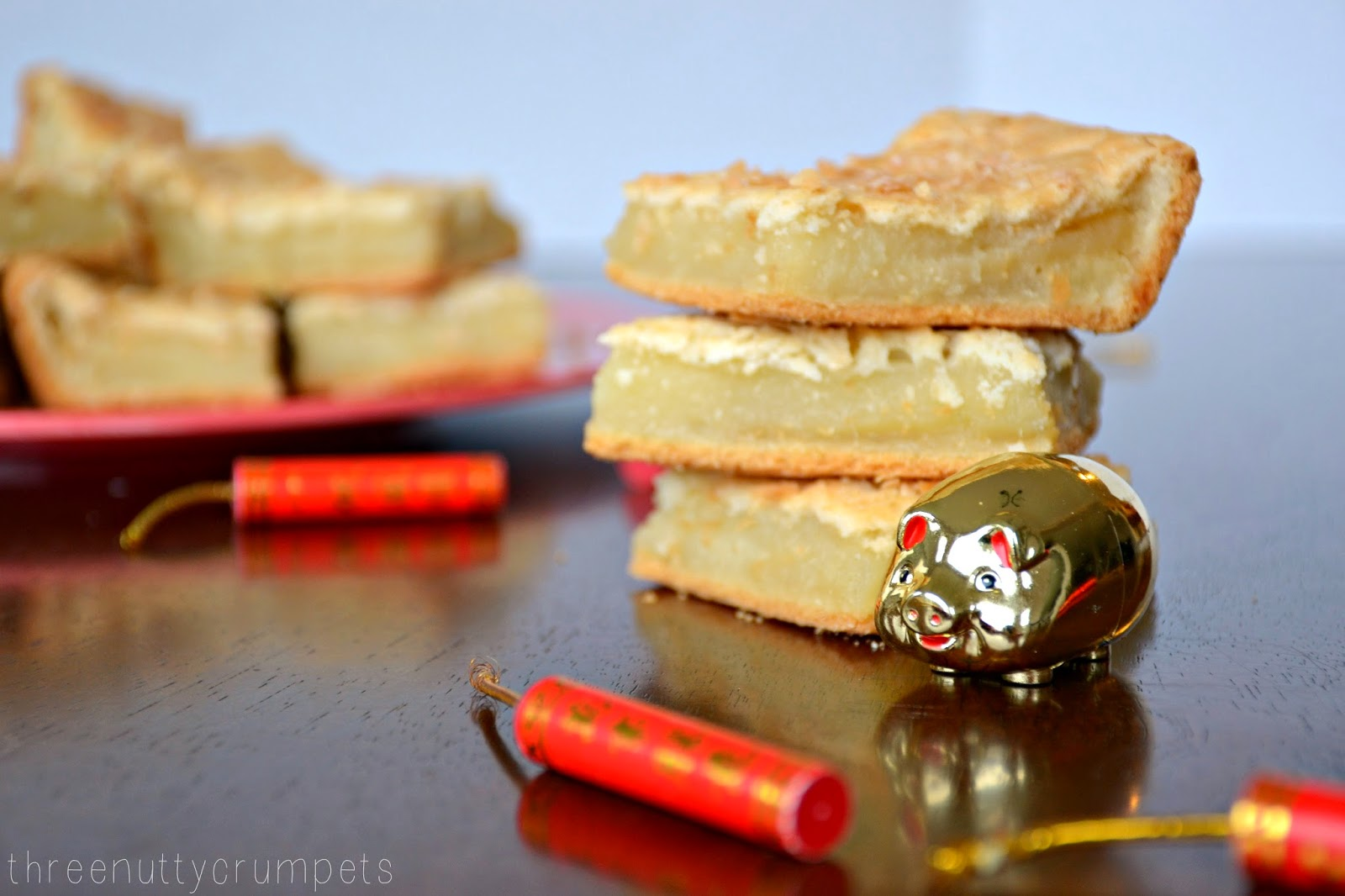 ... Nutty Crumpets: Perfected Baked Coconut Rice Cake 椰汁烤年糕