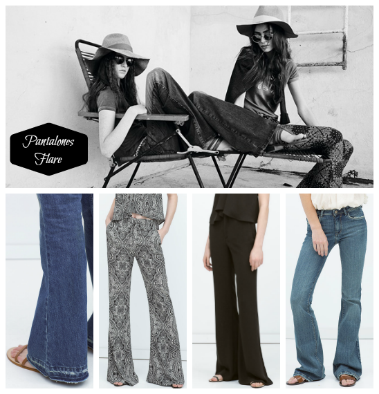 tendencias moda pantalones flare primavera verano 2015