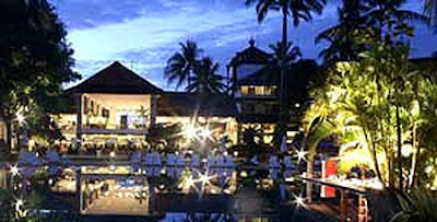 Discovery Kartika Plaza Hotel at night
