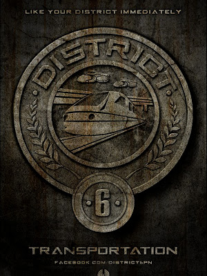 The Hunger Games District 6 Transportation Poster