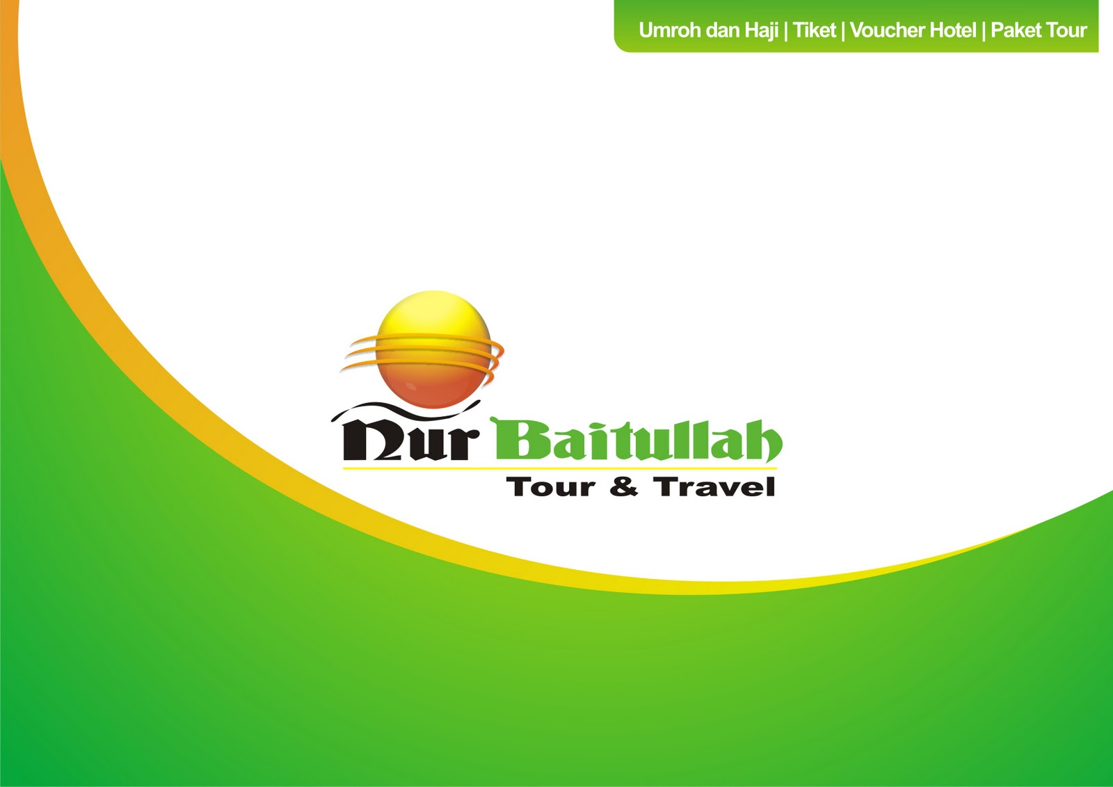 Contoh Company Profile Cetak Perusahaan Tour & Travel