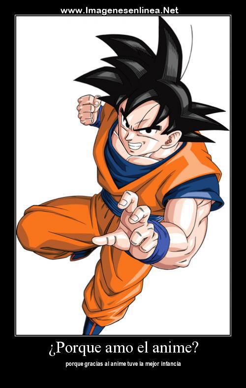 ¿Por que amo el anime? porque gracias al anime tuve la mejor infancia