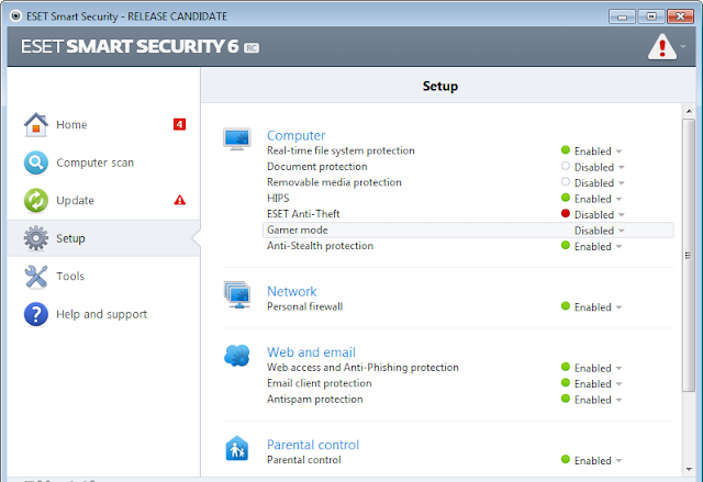 ESET Smart Security 6.0.314.0