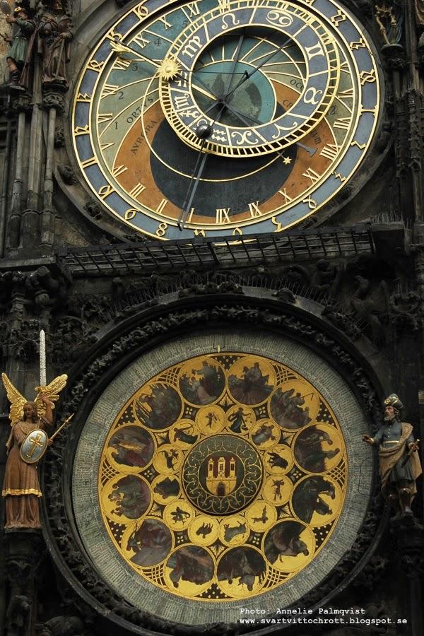 astronomiska uret i prag, tjeckien