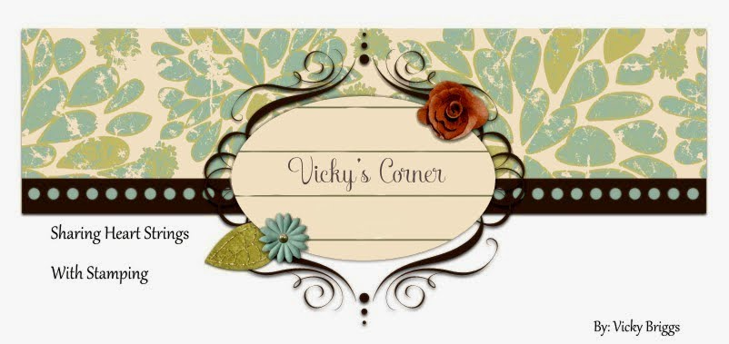 Vicky's Corner rubber stamp Blog