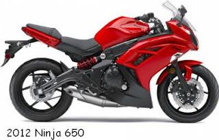2012 Kawasaki ninja 650