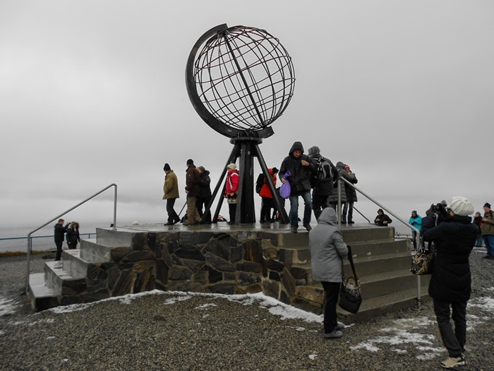 visiting the north cape