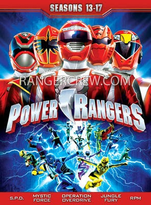 digital ranger 39 s blog power rangers season 13 19 dvd box art. Black Bedroom Furniture Sets. Home Design Ideas