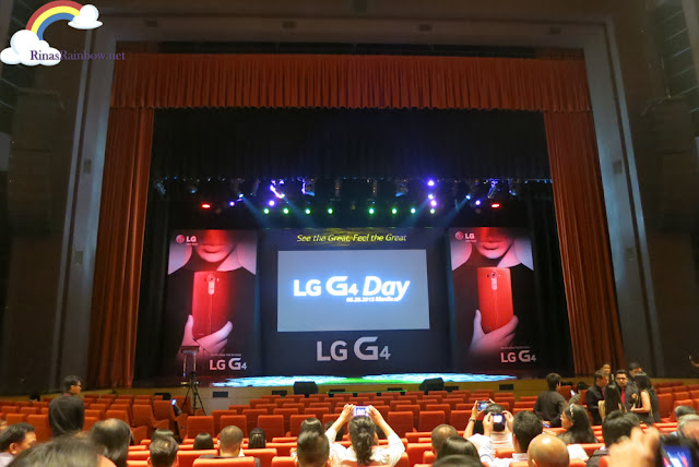 LG G4 Day The Theater Solaire