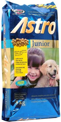 ração Astro junior