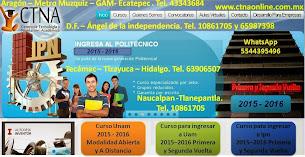 Contacto FB: Curso Ipn Primera Vuelta